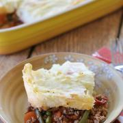 Savory Cottage Pie {Whole30 option}