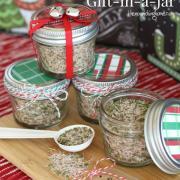 Season's Greetings Gift: All-Purpose Seasoning Mix in a Jar