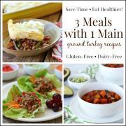 3 Meals with 1 Main Dish: Tasty Ground Turkey Recipes