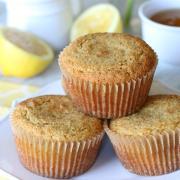 Lemon Poppy Seed Muffins {GF, DF}