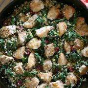 One-Skillet Savory Chicken & Veggies {Whole30}
