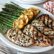 Easy Grilled Herb Turkey Breasts {Whole30}