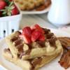 Cinnamon Toast Waffles {Grain-free, Dairy-free}
