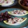 Turkey Salad Boats {or Chicken Salad Boats}