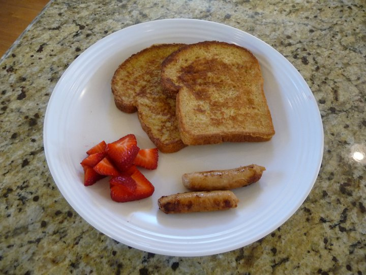 Easy & Healthy French Toast (GF Option)