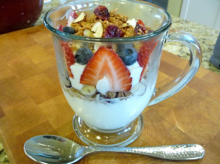 Fruit & Yogurt Parfaits (GF) - The Nourishing Home