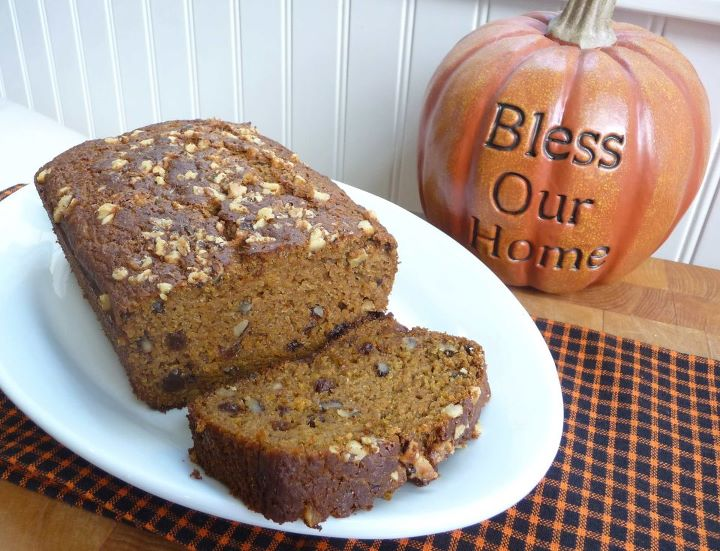 Nuts-for-Pumpkin Bread