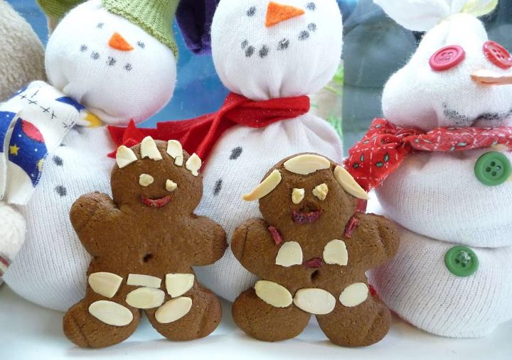 Whole Grain Gingerbread Cookie Cut-Outs