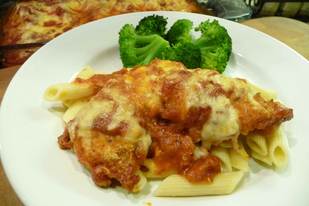 Chicken Parmigiana / Parmesan Chicken Tenders (GF Option) - The ...