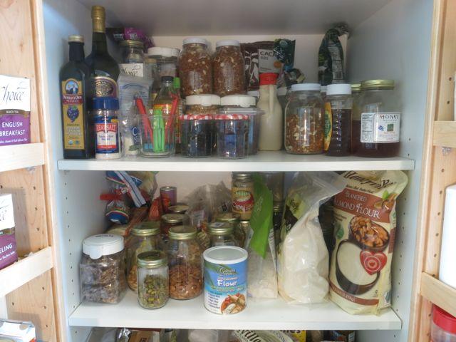 A Peek in my Real Food Pantry