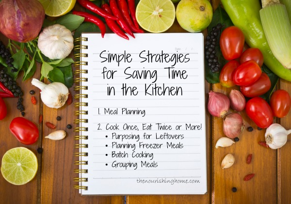 Strategies for Saving Time in the Kitchen