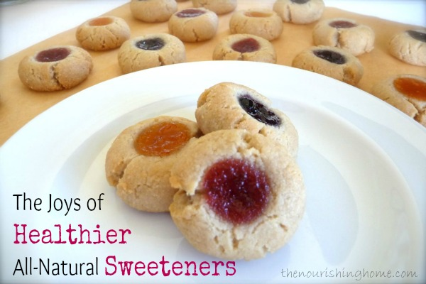 The Joys of Healthier All-Natural Sweeteners