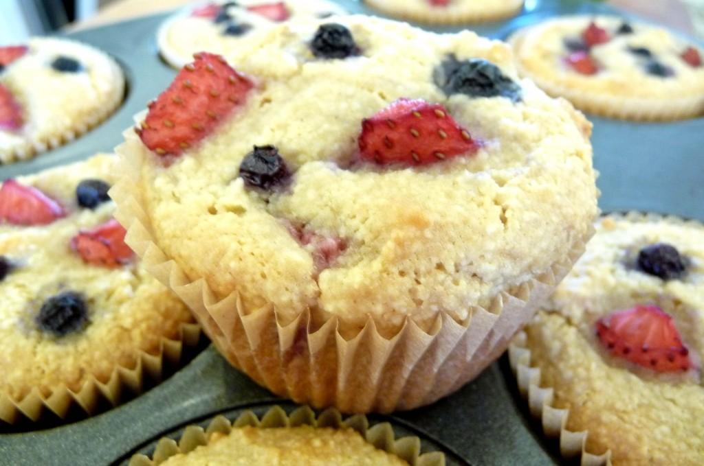 healthy fruit muffins healthy frozen fruit