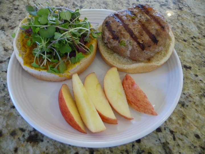 Turkey-Veggie Burgers (GF)