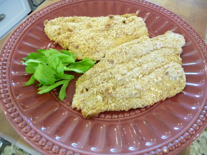 Healthier Breaded Fish (GF Option)
