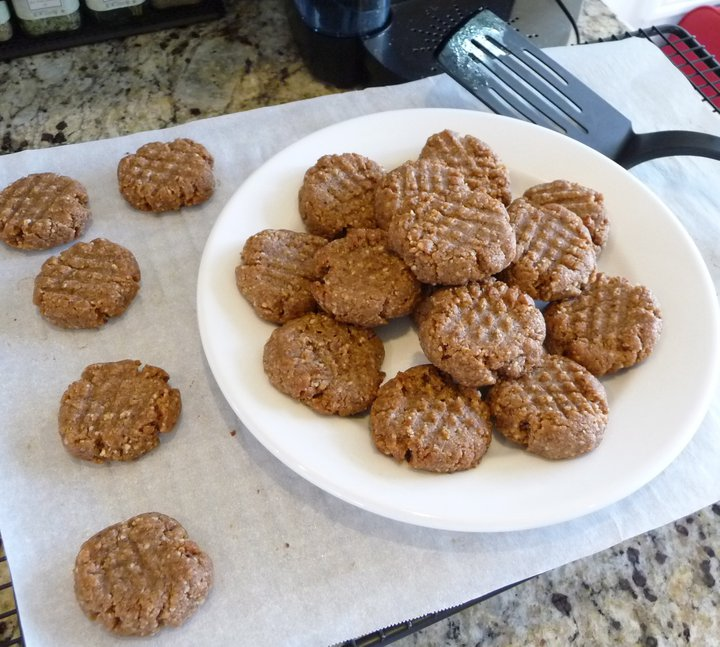 Cinnamon-Walnut Buttons (GF)