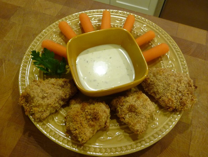Healthy Chicken Nuggets (GF Option)