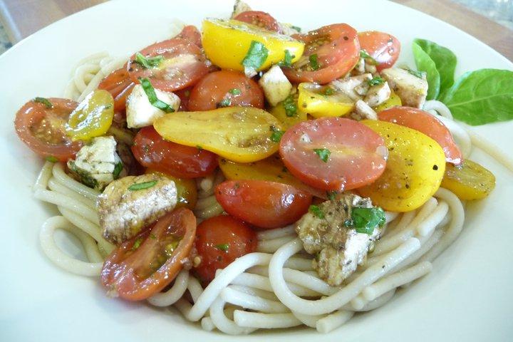 Caprese Pasta (Gluten-Free Option)