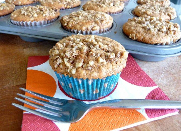 Soaked Cinnamon Crumb Cake & Cupcakes