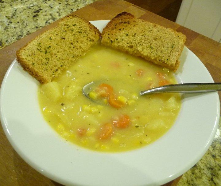 Potato Corn Chowder (Gluten-Free)