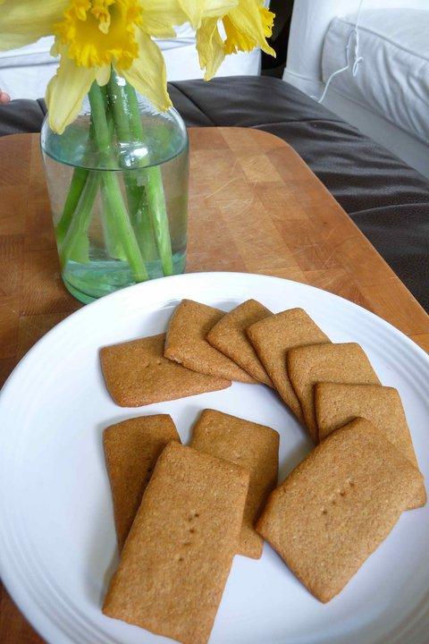Honey Graham Cracker Cookies