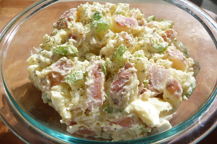 Grandma's Cultured Potato Salad (GF)