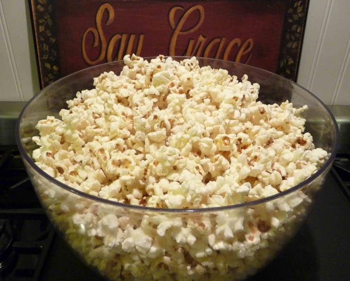 Perfect Buttered Popcorn (Gluten-Free)