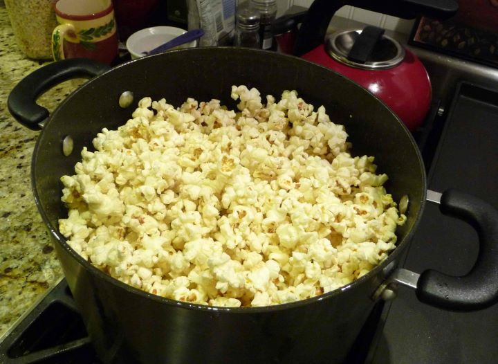Perfect Buttered Popcorn (Gluten-Free) - The Nourishing Home