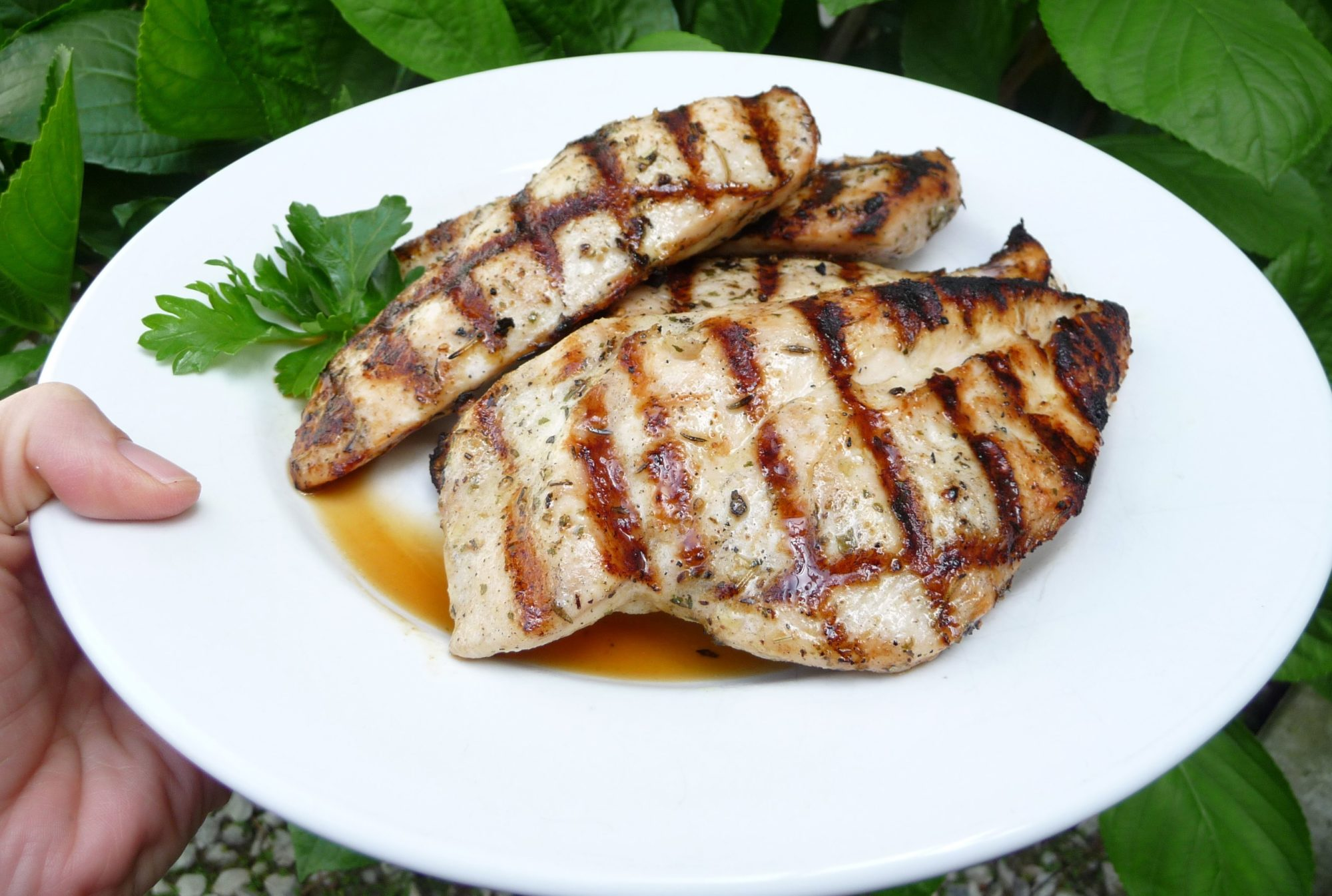 Easy Grilled Herb Chicken (GF)