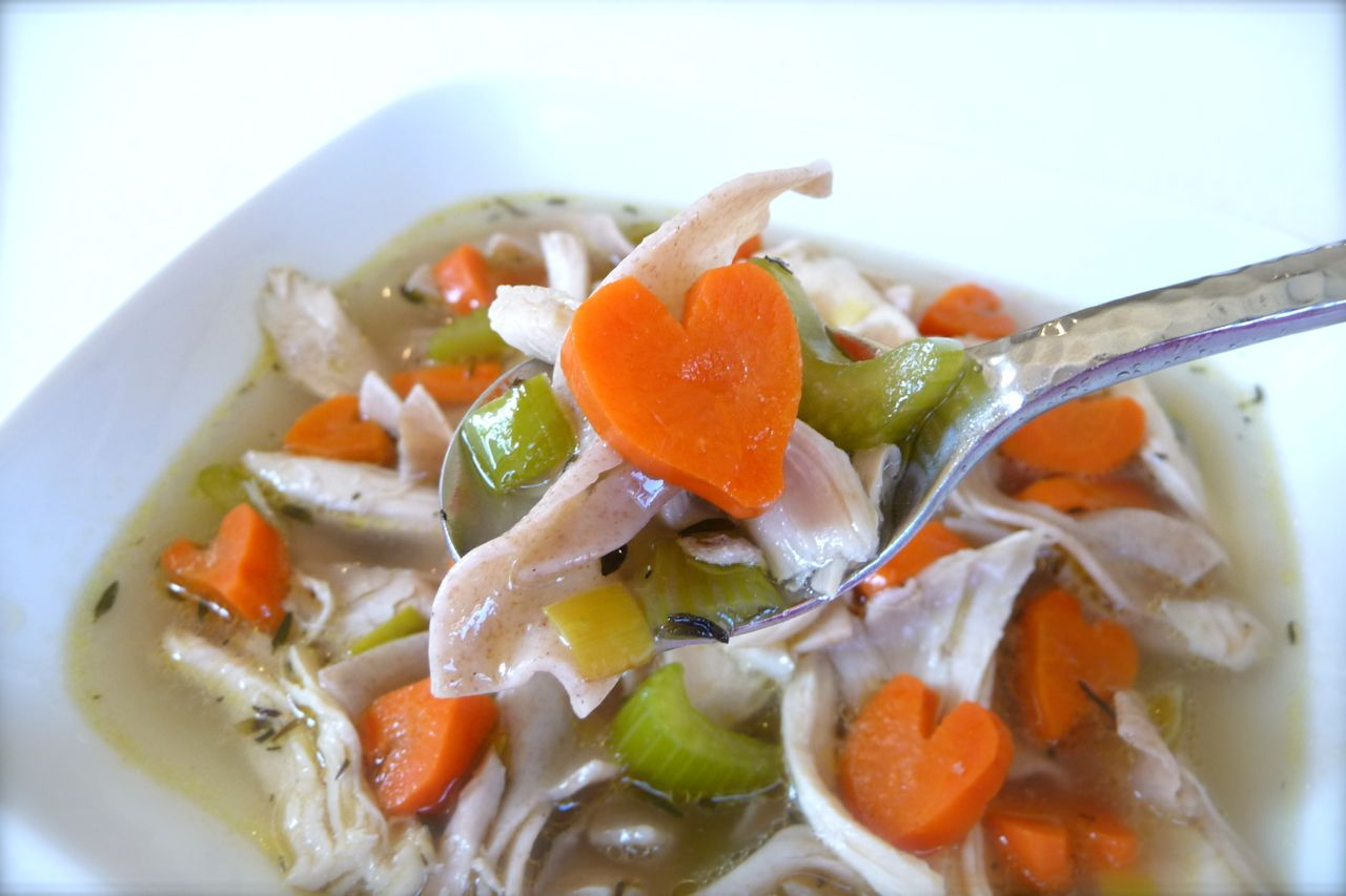 Made With Love Chicken Noodle Soup (Gluten-Free Option)