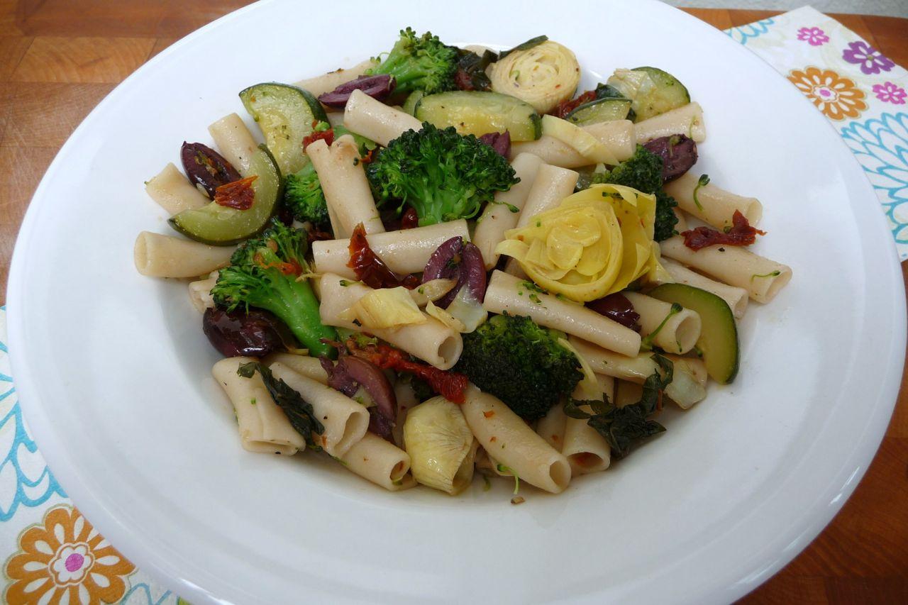 Veggie Penne Sauté (Gluten-Free Option)