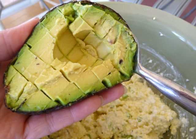 Avocado Egg Salad (GF) - The Nourishing Home