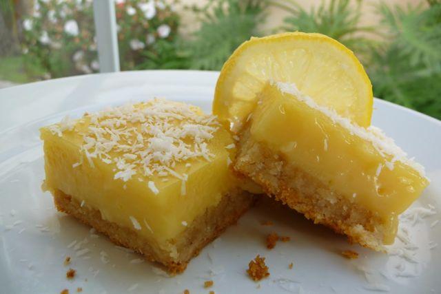 Luscious Lemon Bars (GF)