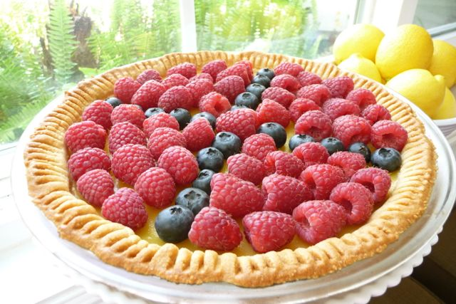 Lemon Berry Tart (GF)