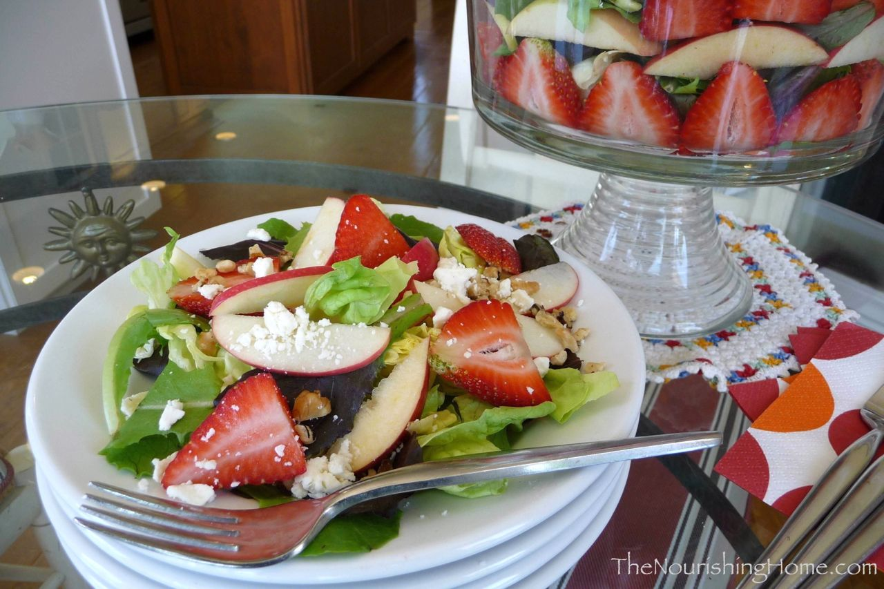 Strawberry Feta Salad TNH