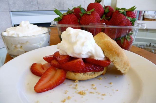 Southern-style Strawberry Shortcakes (GF)