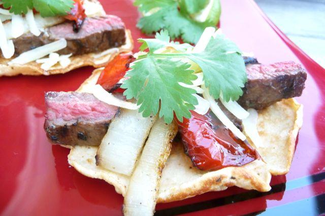 Grilled Steak & Veggie Fajitas (GF Option) - The Nourishing Home