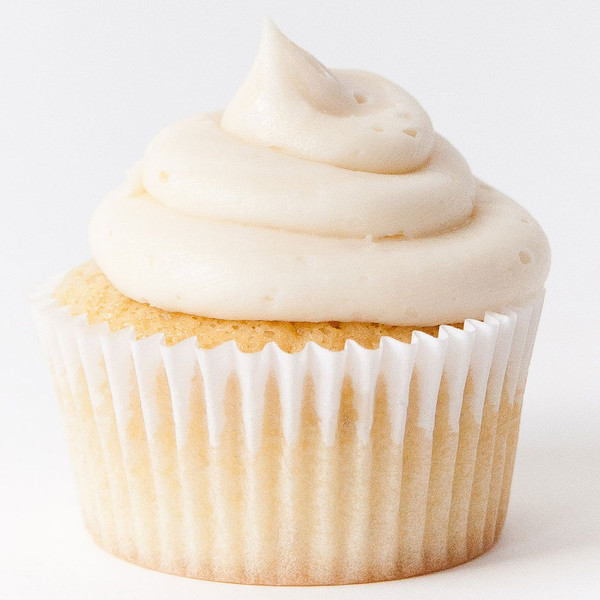 Basic Vanilla Cupcakes With Vanilla Cream Cheese Icing Recipes ...