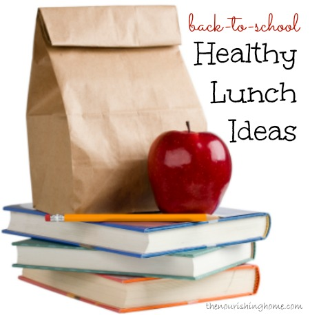 Back-to-School Health Lunch Ideas