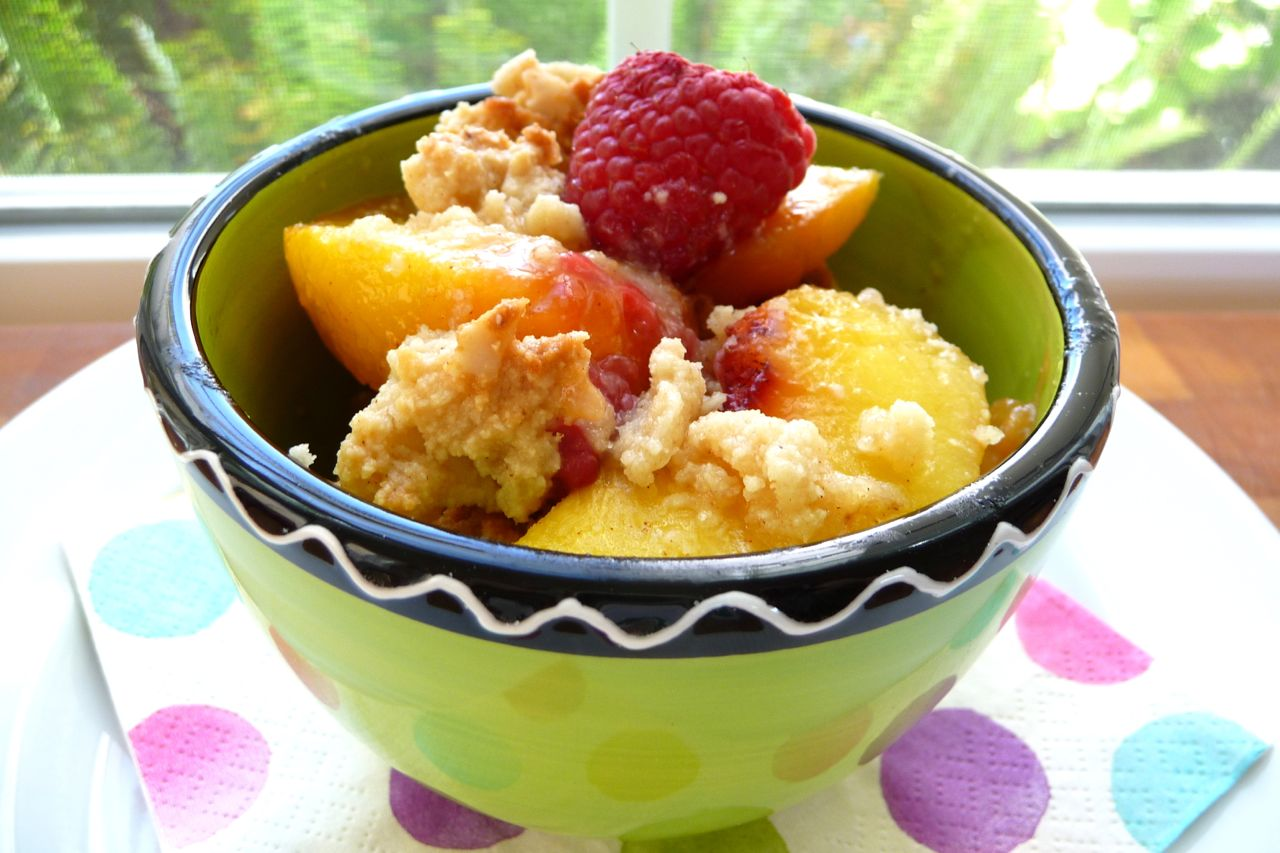 ... at My Journey & Our Favorite Fruit Crisp Recipe! - The Nourishing Home