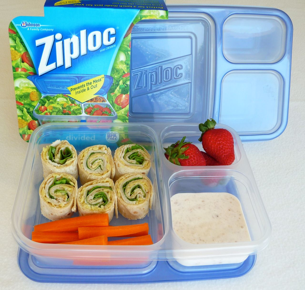 Food+Storage+Divided+Containers ziploc divided container overview ...