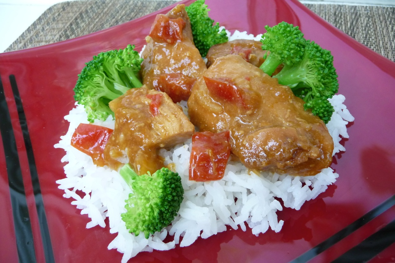 Sweet-n-Spicy Crockpot Chicken (GF)