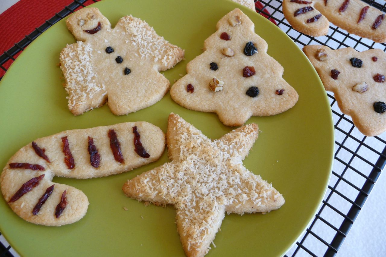 "Grain-Free ""Sugar"" Cookie Cut-Outs"