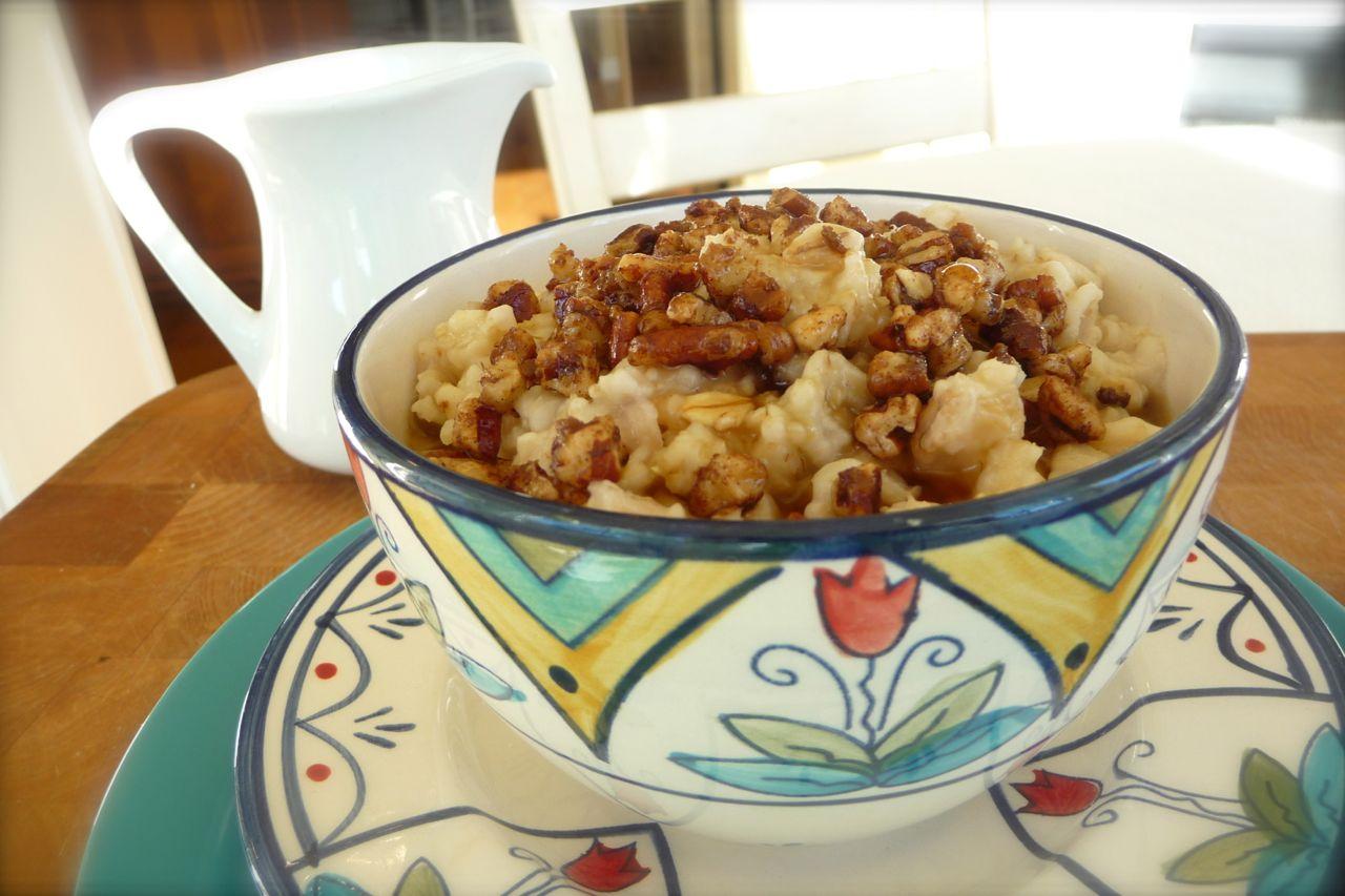 Cinnamon Maple Crunch Oatmeal
