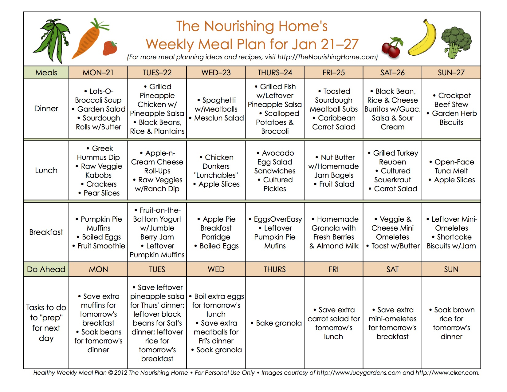 New Meal Plan 39a