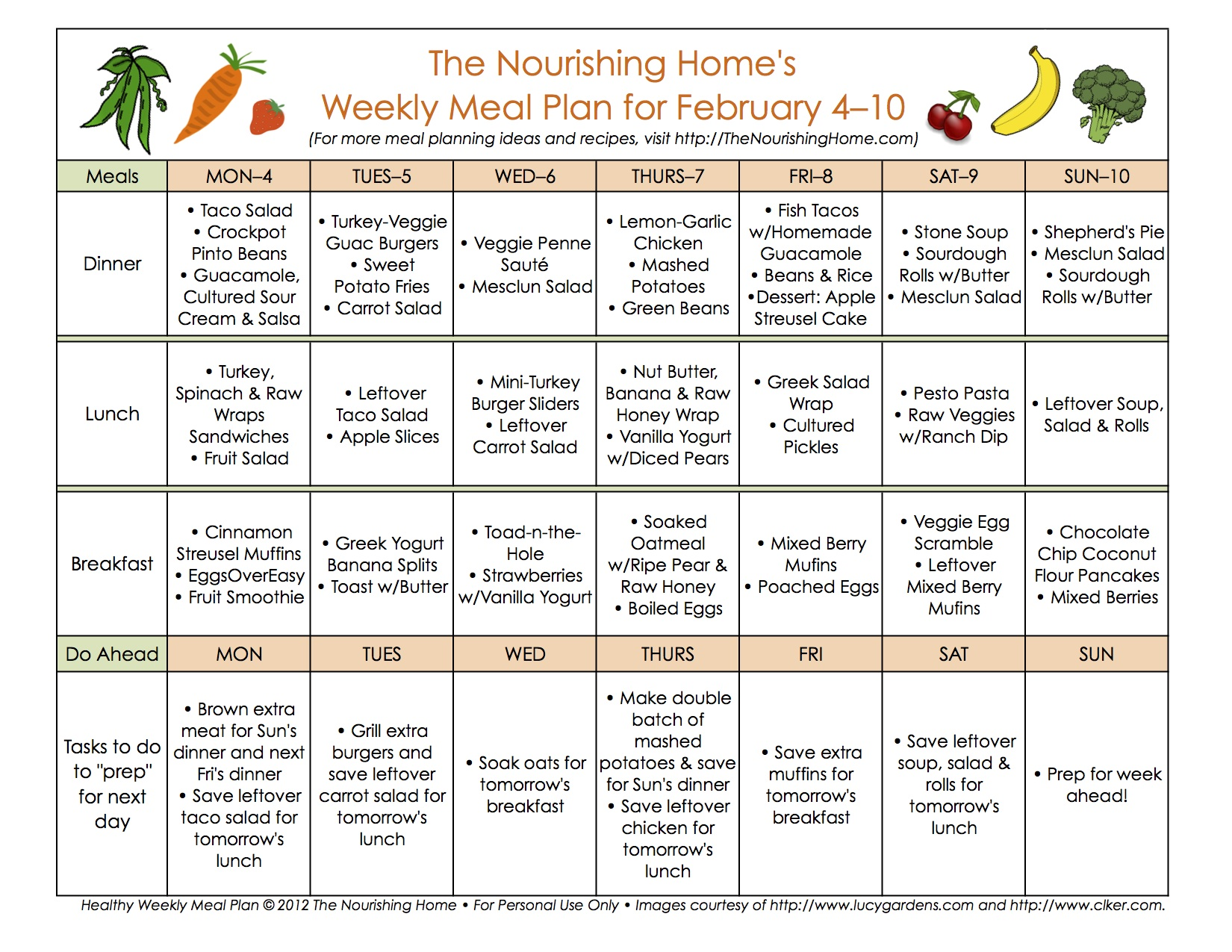 Meal Planning Archives - Page 15 of 30 - The Nourishing Home