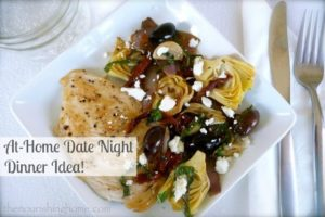 At-Home Date Night Dinner!