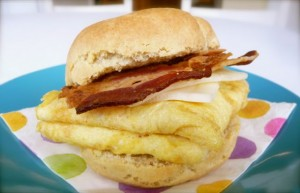 Bacon Egg Cheese Biscuit