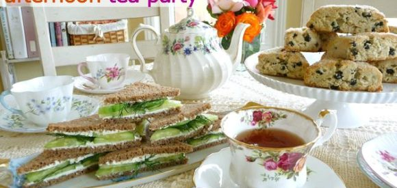 Host An Afternoon Tea Party