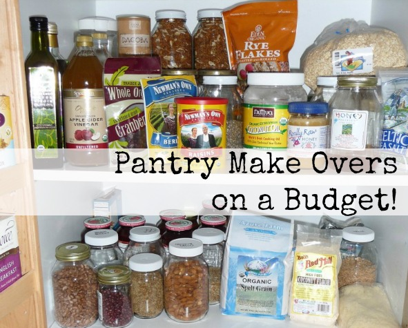 Kitchen Pantry Make Overs on a Budget!